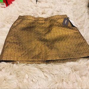 NWT Bronze Skirt